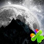 GO Launcher EX Cosmos Moon 2