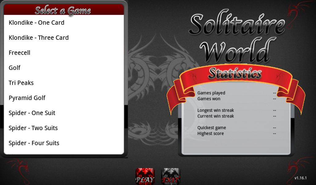 Solitaire World Free - screenshot