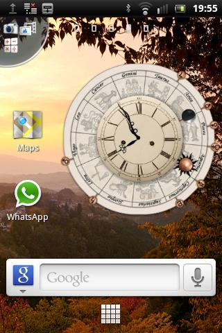 AstroClock (+Widget) - screenshot