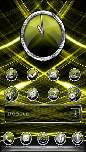 CrystalX HD Multi Theme Yellow
