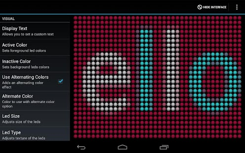 LED Text Scroller - screenshot thumbnail