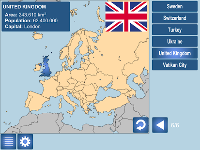 GEOGSMART - Europe - screenshot thumbnail