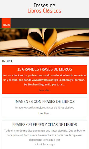 Frases de Libros Clásicos