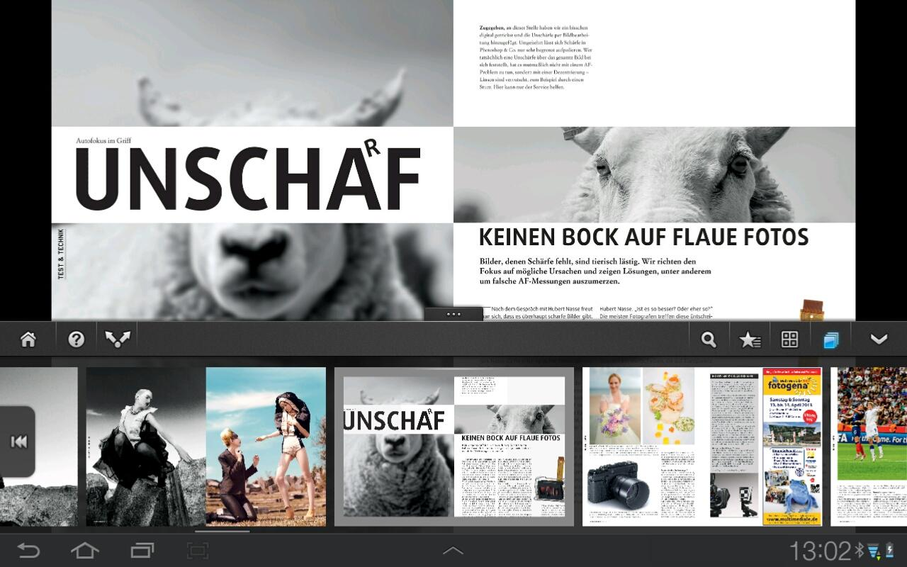 Photographie Magazin- screenshot
