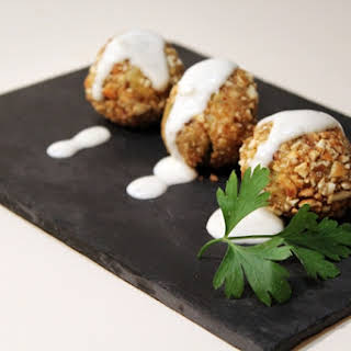 Chickpea and Cod Croquettes with Aiol.