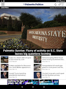 Palmetto Politics- screenshot thumbnail