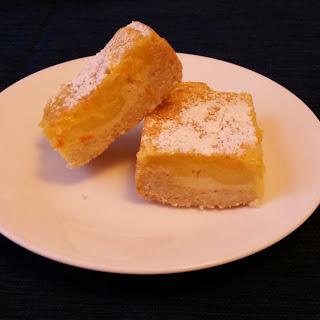 Citrus Cream Cheese Bars