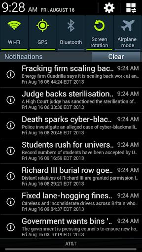 RSS Alert
