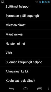 Hirsipuu suomi - screenshot thumbnail