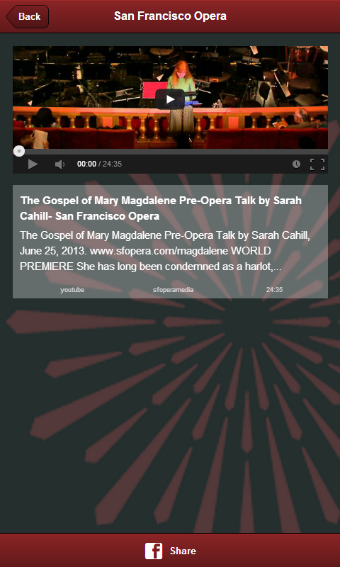 San Francisco Opera - screenshot