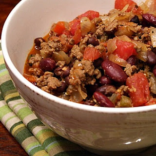 Beef and Bean Chili.