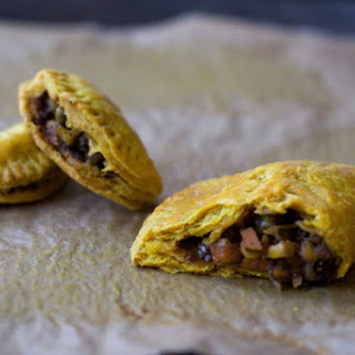 Jamaican Veggie Patties.