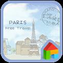 파리자유여행 도돌런처 테마 icon