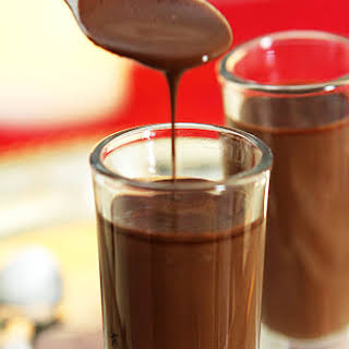 Coffee and Chocolate Espresso Shots.