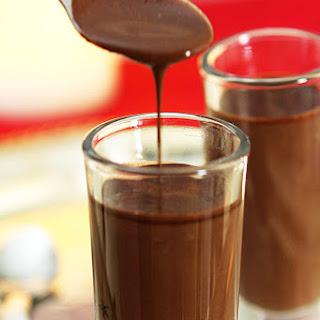 Coffee and Chocolate Espresso Shots.