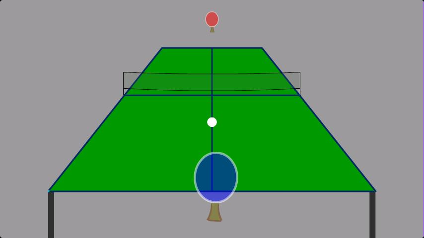 3D Ping-Pong Match - screenshot