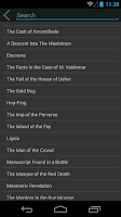 Screenshot of E.A. Poe Selected Works