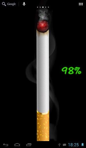 香煙 - 電池,壁紙
