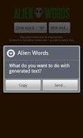 Screenshot of Alien Words