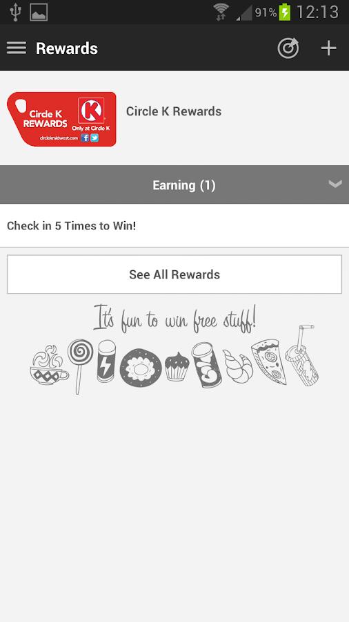 Circle K Midwest Rewards - screenshot