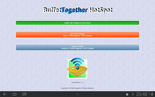 3G BuffetTogether WiFi HotSpot- screenshot thumbnail