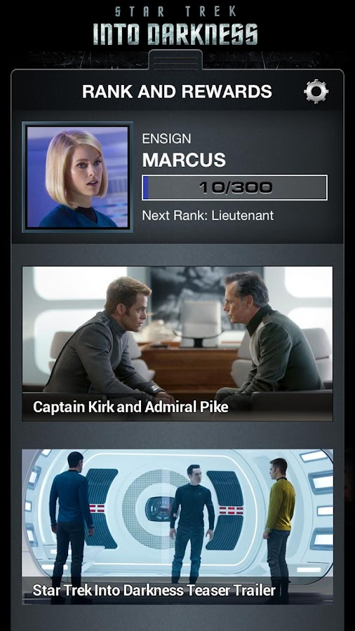 Star Trek App - screenshot