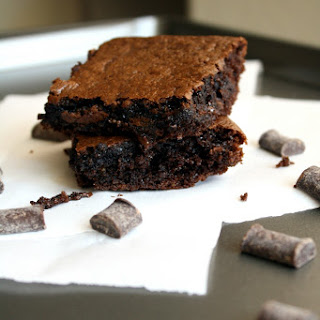 Paleo Double-Chocolate Flourless Brownies