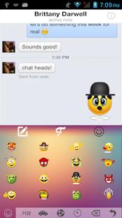 Color Emoji Keyboard Free - náhled