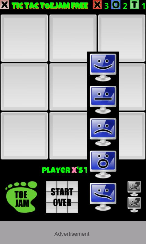 Tic Tac Toe Jam Free- screenshot
