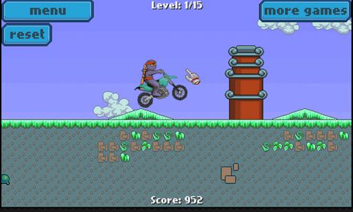 忍者自行車 - 越野比賽