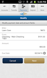 FirstMerit Mobile Banking Screenshot 3