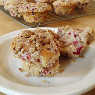Cranberry Pecan Streusel Muffins