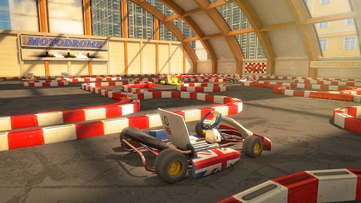 Go Kart Parking Racing Game