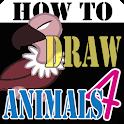 HowToDraw AnimalsForKids4 icon