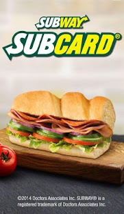 SUBWAY® SUBCARD® UK & Ireland - screenshot thumbnail