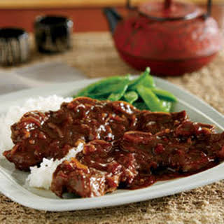 Asian Glazed Short Ribs.