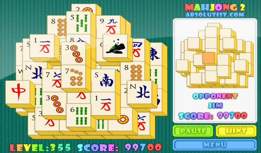 free mahjong solitaire full screen