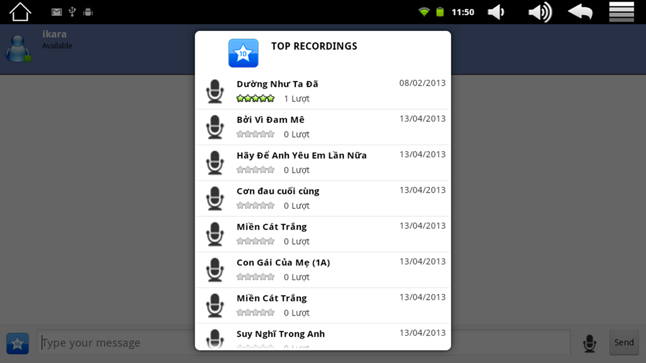 best free karaoke apps for android tablet