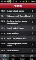 Screenshot of Sigma Events