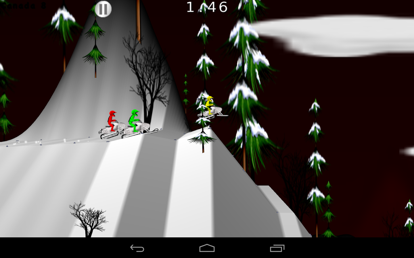 SnowXross - Snowmobile Racing- screenshot