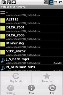 Folder Music Player Pro No Ads - screenshot thumbnail