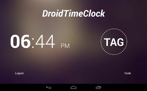 DroidTimeClock Free