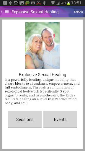 Explosive Sexual Healing