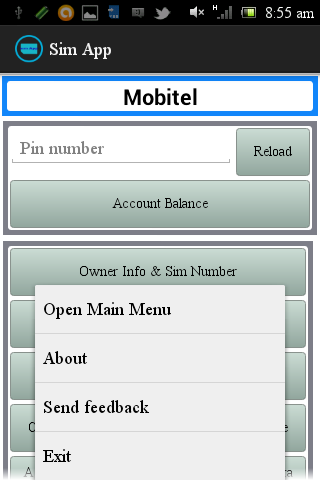 Sim App Sri Lanka - screenshot
