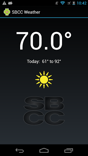 SBCC Weather S14