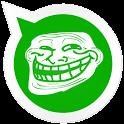 Wasap Fake Image Trolling icon