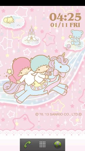 [キキ&ララ]お星さまとユニコーンライブ壁紙