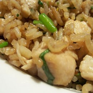 Fried Rice with Cilantro