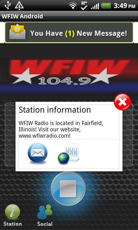 WFIW Android - screenshot