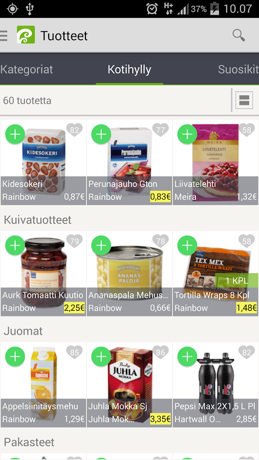 Foodie.fi- screenshot